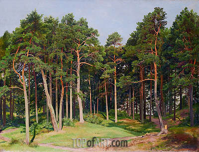 Pine Forest, Merrekyul, 1894 | Ivan Shishkin | Painting Reproduction