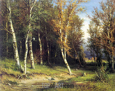 Forest Before the Storm, 1872 | Ivan Shishkin | Gemälde Reproduktion
