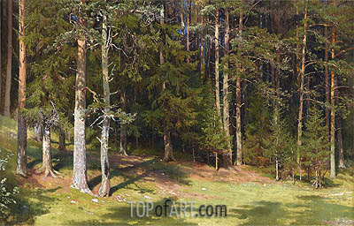 The Clearing, 1878 | Ivan Shishkin | Gemälde Reproduktion