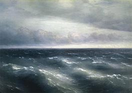 The Black Sea | Aivazovsky | Painting Reproduction