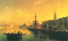 Venice, 1842 by Aivazovsky | Painting Reproduction