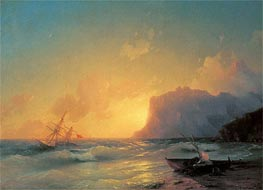 The Sea at Koktebel | Aivazovsky | Painting Reproduction