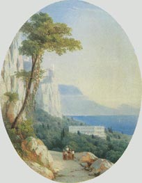Oreanda, 1858 by Aivazovsky | Painting Reproduction