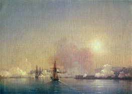 Arrival into Sevastopol Bay | Aivazovsky | Painting Reproduction