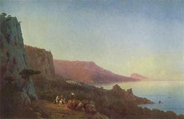 Evening in the Crimea, 1848 by Aivazovsky | Painting Reproduction
