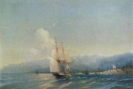 The Crimea, 1852 by Aivazovsky | Painting Reproduction