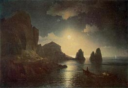 A Sea View, 1841 by Aivazovsky | Painting Reproduction