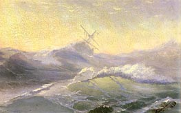 Bracing the Waves | Aivazovsky | Painting Reproduction