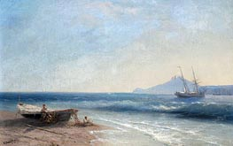 Marine Scene, 1893 by Aivazovsky | Painting Reproduction