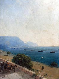 Black Sea Fleet, 1893 by Aivazovsky | Painting Reproduction