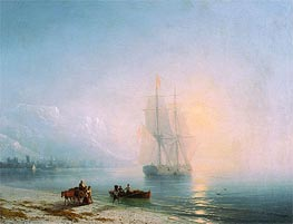 Calm Sea | Aivazovsky | Gemälde Reproduktion