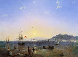 Kerch, 1839 by Aivazovsky | Painting Reproduction