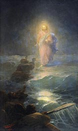 Walking on the Water, 1888 by Aivazovsky | Painting Reproduction