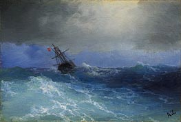 Marine, Undated by Aivazovsky | Painting Reproduction