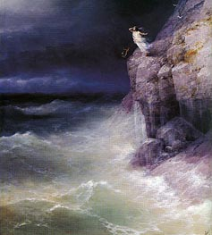 Sappho | Aivazovsky | Painting Reproduction