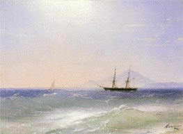 View of Ischia | Aivazovsky | Painting Reproduction
