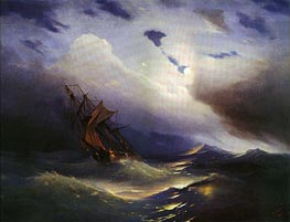 Storm | Aivazovsky | Painting Reproduction
