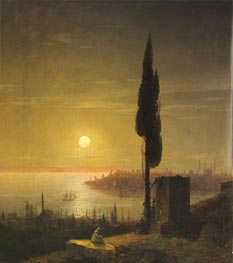 Constantinople | Aivazovsky | Painting Reproduction