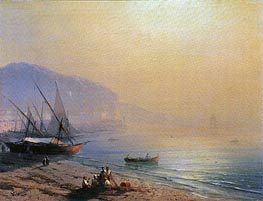 The Sea Shore | Aivazovsky | Painting Reproduction
