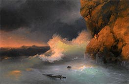 The Survivor | Aivazovsky | Painting Reproduction