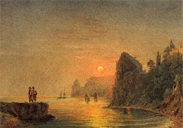Coastal Sunset | Aivazovsky | Painting Reproduction