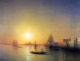Venice, 1874 by Aivazovsky | Painting Reproduction