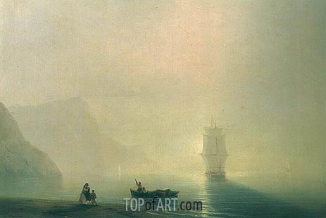 Morning, 1851 | Aivazovsky | Painting Reproduction