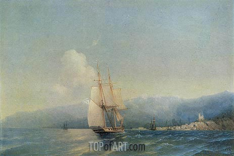 The Crimea, 1852 | Aivazovsky | Gemälde Reproduktion