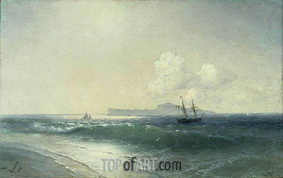 Tallinn Harbour, 1898 | Aivazovsky | Painting Reproduction