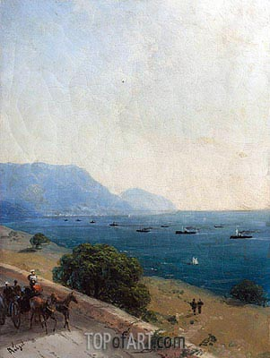 Black Sea Fleet, 1893 | Aivazovsky | Painting Reproduction