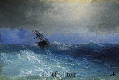 Marine, Undated | Aivazovsky | Painting Reproduction