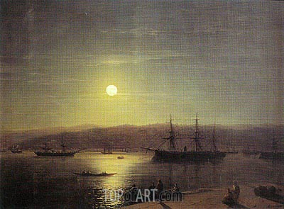 Constantinople, 1874 | Aivazovsky | Painting Reproduction