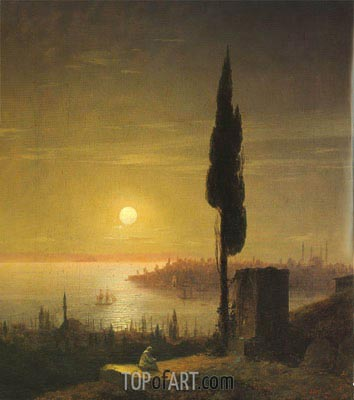 Constantinople, 1848 | Aivazovsky | Painting Reproduction