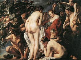 Allegory of Fertility, c.1623 by Jacob Jordaens | Painting Reproduction