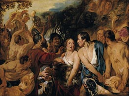 Meleager and Atalante | Jacob Jordaens | Painting Reproduction