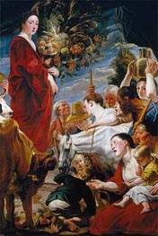 Offering to Ceres, c.1619 by Jacob Jordaens | Painting Reproduction