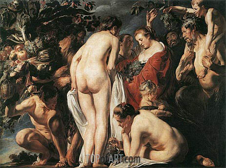 Allegory of Fertility, c.1623 | Jacob Jordaens | Painting Reproduction