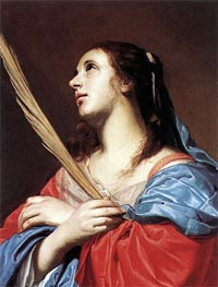 Female Martyr | Jacob van Oost | Painting Reproduction