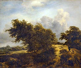 The Bush, 1856 by Ruisdael | Painting Reproduction