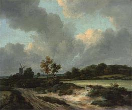 Grainfields, c.1665/70 by Ruisdael | Painting Reproduction