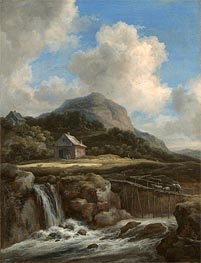 Mountain Torrent | Ruisdael | Gemälde Reproduktion