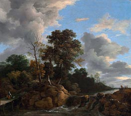 Landscape | Ruisdael | Painting Reproduction