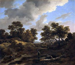 Hills and Woods | Ruisdael | Painting Reproduction