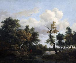A Wood Scene | Ruisdael | Painting Reproduction