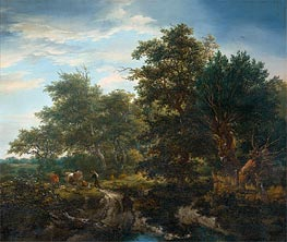 Forest Landscape | Ruisdael | Painting Reproduction