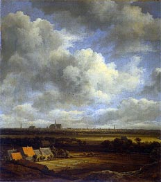 View of Haarlem | Ruisdael | Gemälde Reproduktion