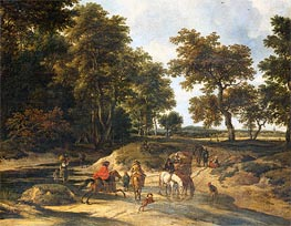 The Benefits, 1682 von Ruisdael | Gemälde-Reproduktion