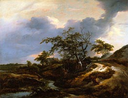 Landscape with Dunes | Ruisdael | Painting Reproduction