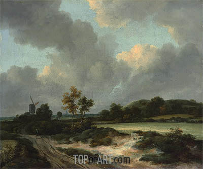 Grainfields, c.1665/70 | Ruisdael | Painting Reproduction