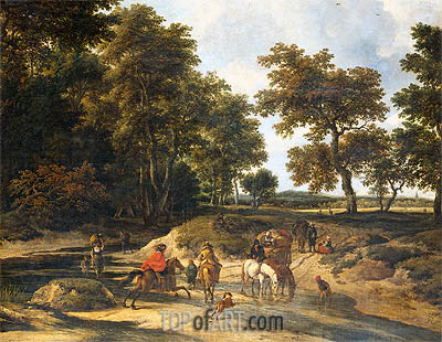The Benefits, 1682 | Ruisdael | Gemälde Reproduktion